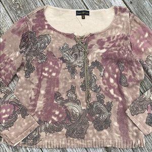 Cinnamon & Cinder lightweight sweater, XXL